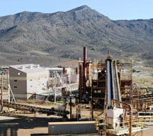 The separations plant at the Molycorp Mountain Pass mine in California. The mining company may have to spend $400 million  to expand output.