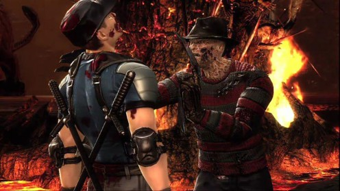 Oh yeah, Freddy Krueger is in it as DLC. So there's that.