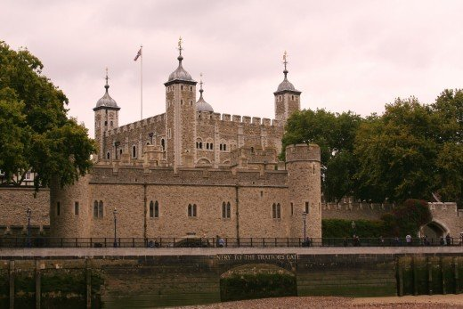 The Tower of London fortress. (Desert Blondie photo)