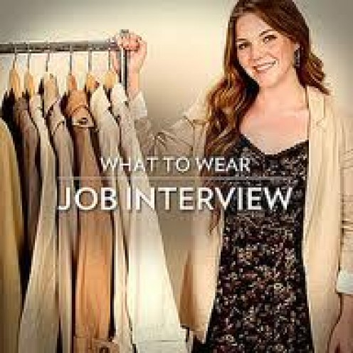 Job Interview suit:  A Job interview must-have. You can't go wrong with suits -- lots of them!