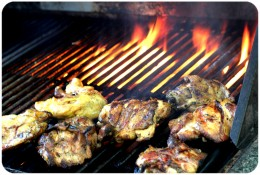 Grilling is a great way to entertain parties. It's even better when you know that you have enough propane to cook everything.