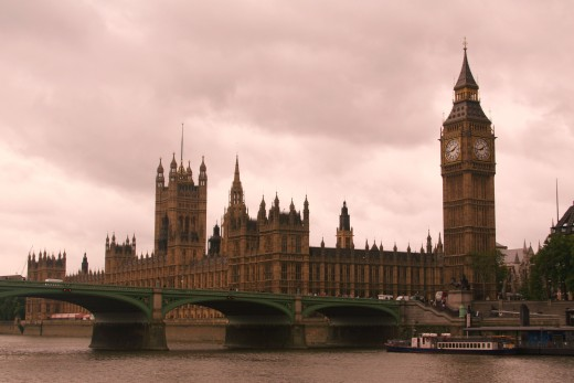 Thames, Westminster Bridge, Big Ben, Parliament (Desesrt Blondie photo)