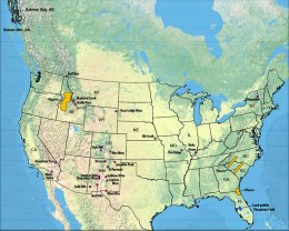 US location of rare earth elements