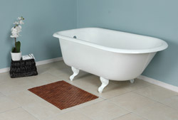 This Is A Picture Of A Classic Style Clawfoot Bathtub.