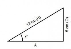 SOH CAH TOA. Finding angles in a right angled triangle using trigonometry.