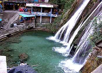 Kempty Falls in Mussoorie