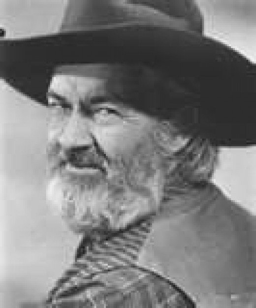 GABBY HAYES was Roy Roger's sidekick. Notice he isn't good-looking, smart, or ambitious. He did talk a lot, thus the entertainent factor. And name: Gabby.