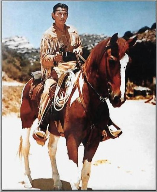 TONTO, faithful Indian scout, seen in the fabled Lone Ranger series.