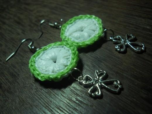 Mama's Disc N' Cross Earrings