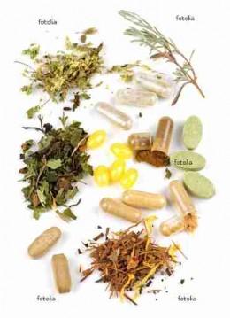 Herbal pill supplements
