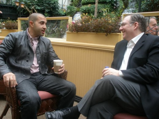 Mosab Hassan Youself talks with Jewish Christian Joel Rosenberg who has written many books about the Middle East conflict.