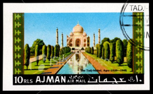 Taj in Stamps, Ajman
