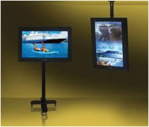 LCD for Ad display