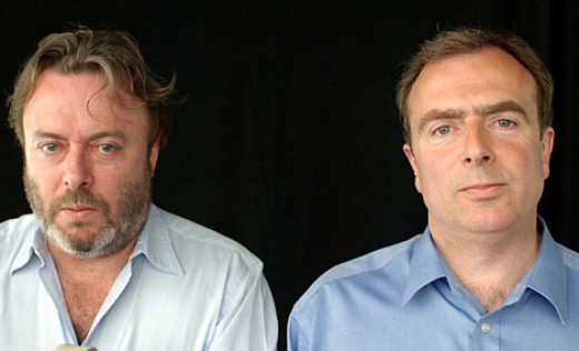 Brothers Christopher and Peter Hitchens have always had a frosty relationship.