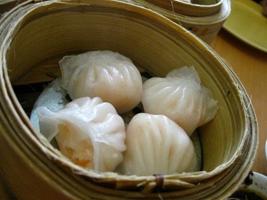 Shrimp Dumplings from the Luk Yuen Menu