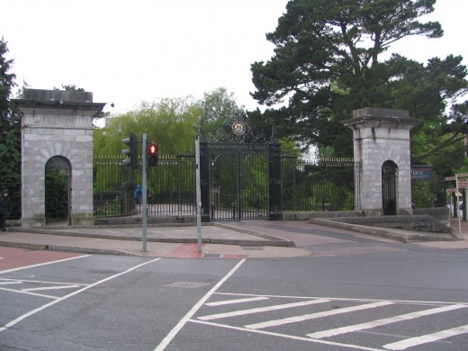 Gate, University College Cork