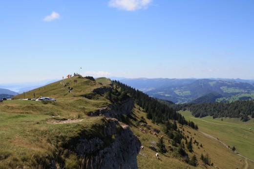 Chasseral in Switzerland