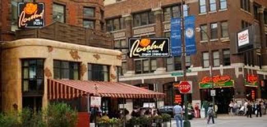 Rush Street in Chicago