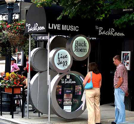 The Back Room Jazz Club on Rush Street