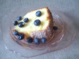 Served With Blueberries