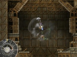 The second fight in Melkah Fortress.