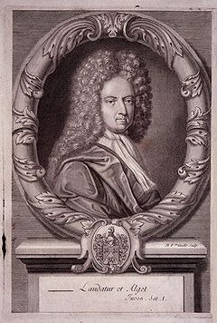 Daniel Defoe, author of Robinson Crusoe, was a driving force behind the first English copyright law.
