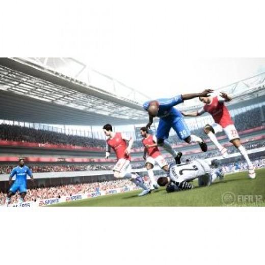 FIFA Soccer 12 graphics