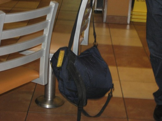 Suspicious bag left in McDonalds, DC