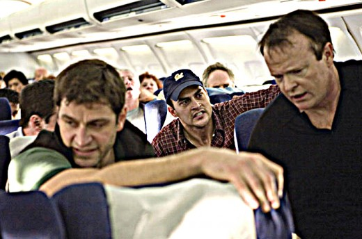 Actors portray real-life passengers on United 93 as they prepare to take on the hijackers