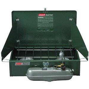 Dual Burner Liquid Fuel Stove