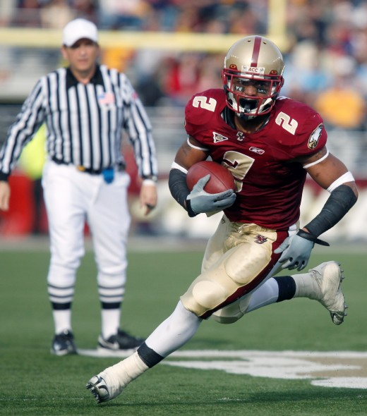 RB Montel Harris (Boston College)