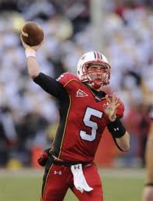 QB Danny O'Brien (Maryland0