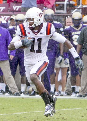 WR Dyrell Roberts (Virginia Tech)