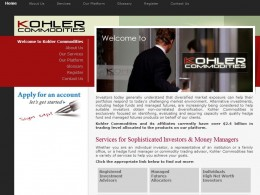Kohler Commodities website
