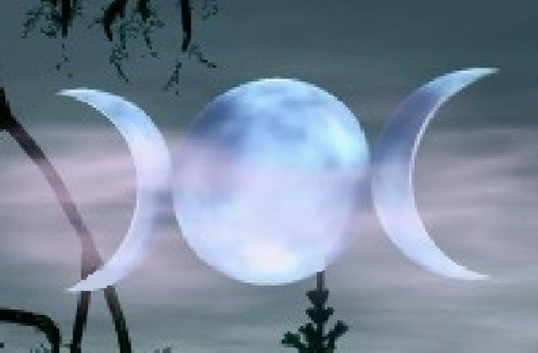 Triple Goddess Moon