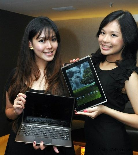 ASUS EEE Pad Transformer TF101 at official presentation