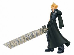 Clouds anime sword is the only of its kind, easily identifying him.