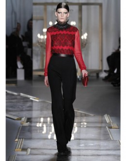 Jason Wus baroque inspired Fall 2011 Runway look