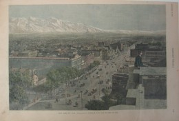 SALT LAKE CITY IN 1886