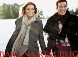 Banana Republic is offering a new look this holiday season.