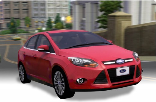 The Sims 3 2012 Ford Focus