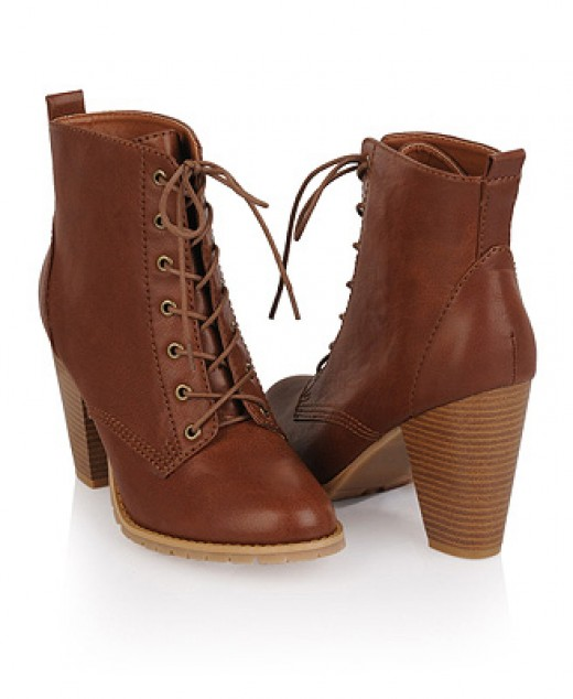 Workman Lace-up Bootie - Only Size 7 Left
