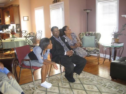 Christian, Gary, and Decia