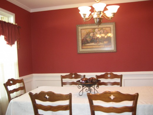 Lauren's Dining room