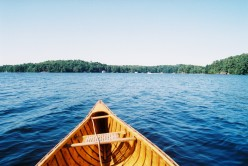 Canoing in the morning