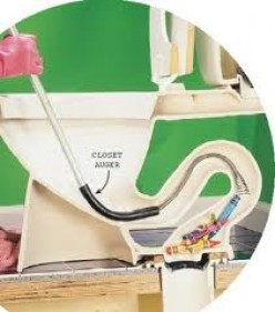 The Toilet Is Not A Litter Box~How To Clear Kitty Litter From The Toilet