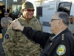 Steven Seagal in Lawman raid