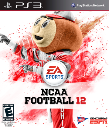 Electronic Arts NCAA Football 12 Mascot