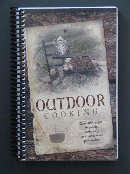 Outdoor Cooking 216 pages of outdoor cooking using old time tips and recipes. Cooking over an open fire with Dutch Ovens, grilling and barbecuing.