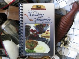 Amish cookbook of the many different food recipes used by the Amish for weddings and large gatherings.  The book follows the preparation of the author for her own wedding.  Large and small batch recipes are included.
